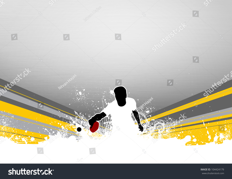 乒乓球背景(海报,网络,传单,杂志)-背景/素材,运动