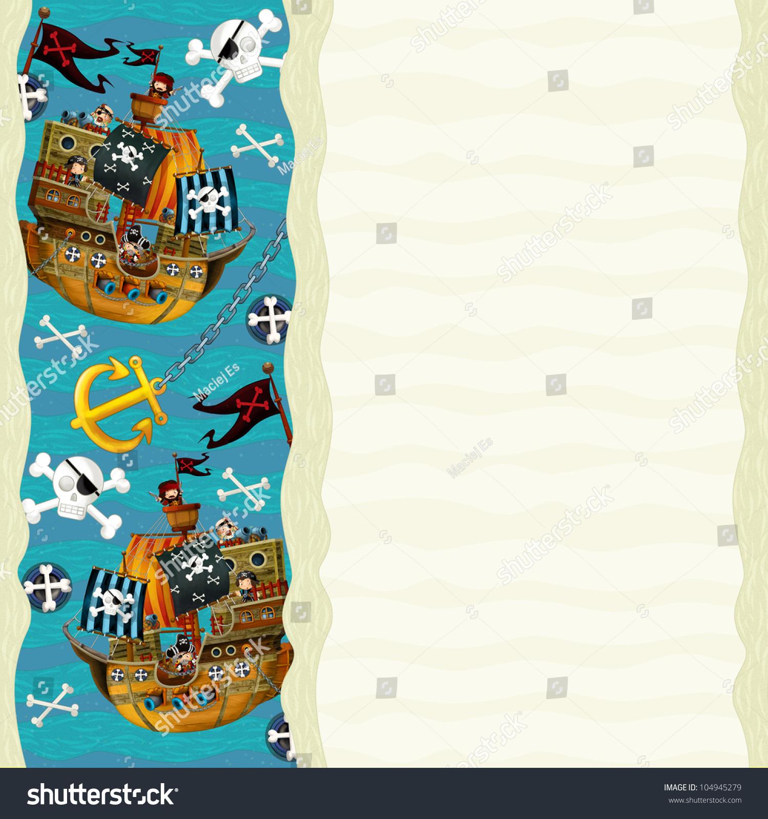设计就像菜单2船和海盗-背景/素材,艺术-海洛创意()-.
