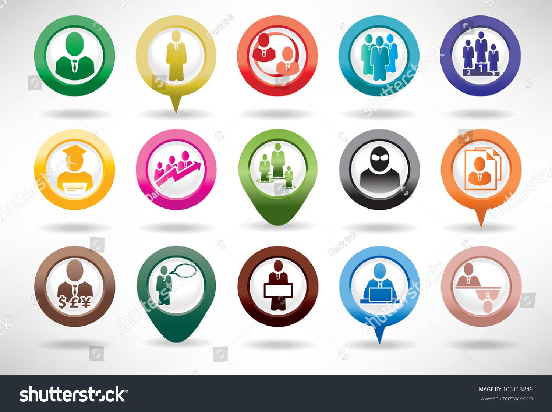 图标集商业和管理-商业/金融,符号/标志-海洛创意()-.