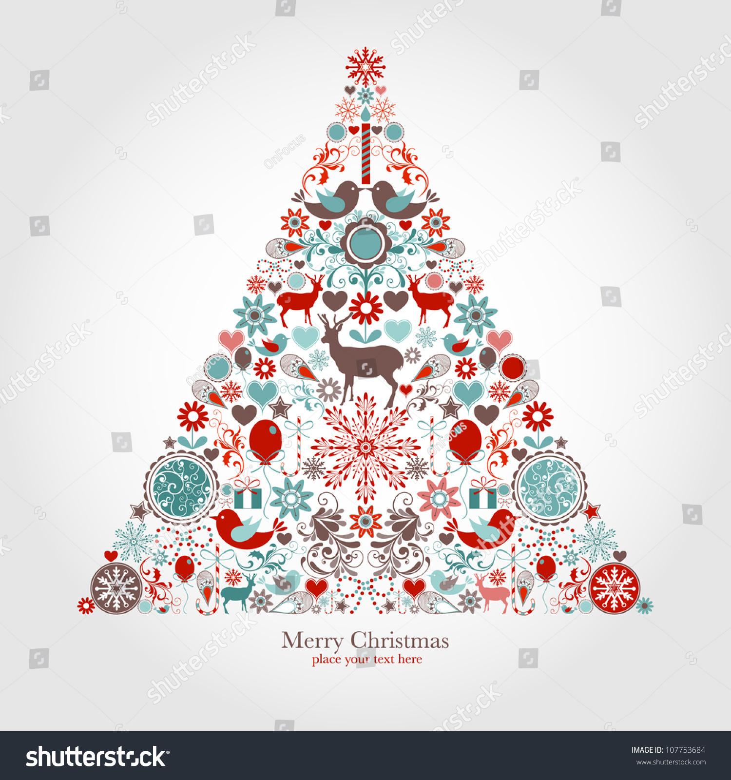 圣诞树-背景/素材,假期-海洛创意(hellorf)-中国独家