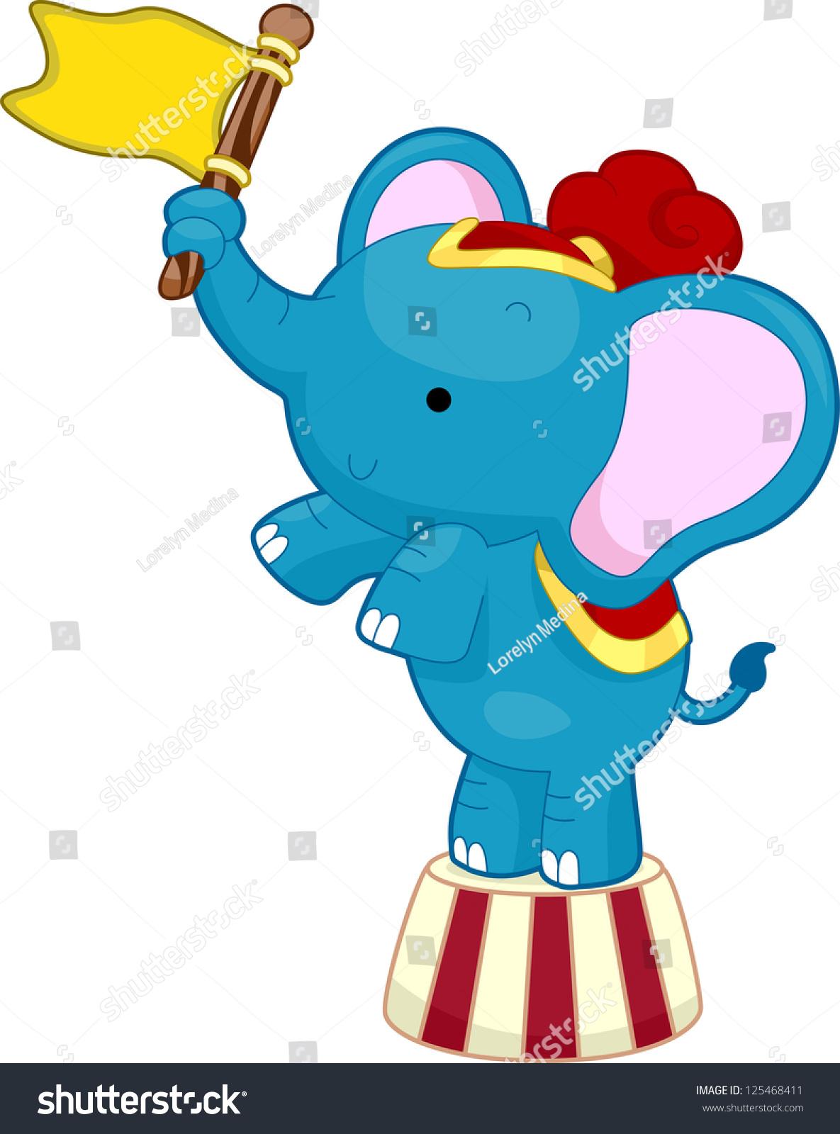 ppt 可爱大象