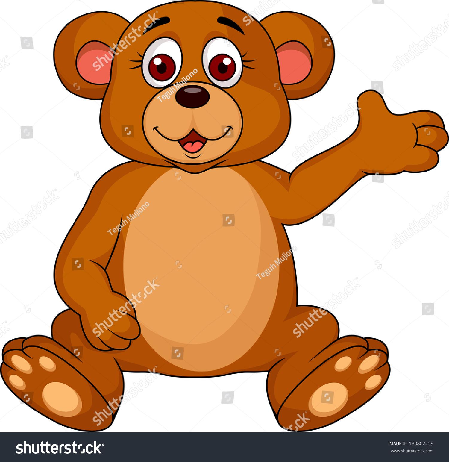 可爱的小熊卡通-动物/野生生物-海洛创意(hellorf)--.