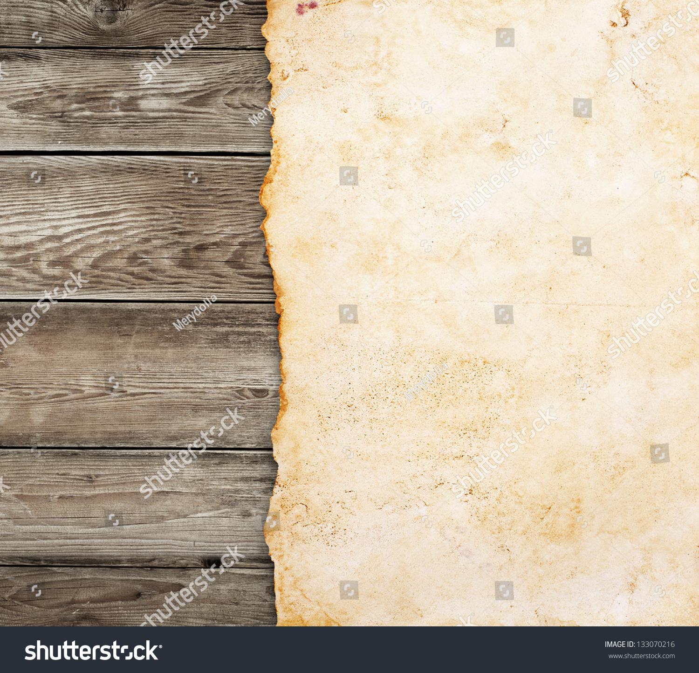 老纸木背景-背景/素材,复古风格-海洛创意(hellorf)-.