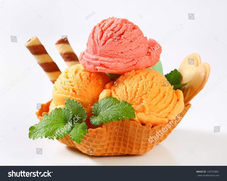 美洲水果冰淇淋包装