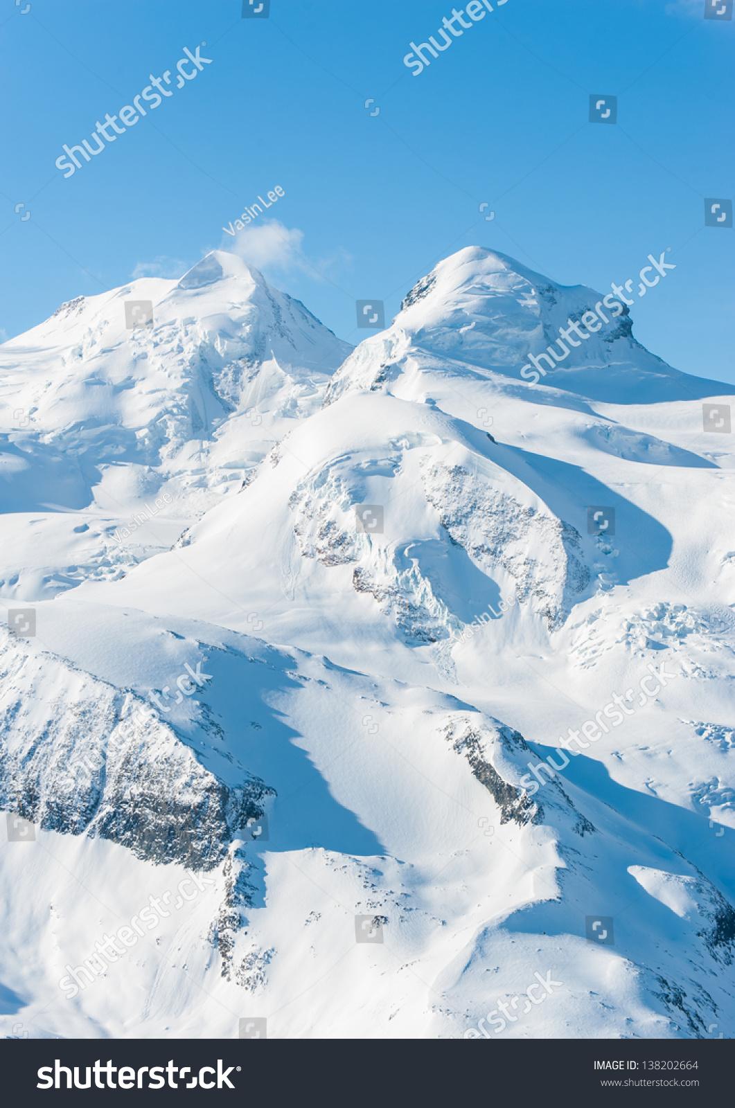 雪山视图-背景/素材,自然-海洛创意(hellorf)-中国-.