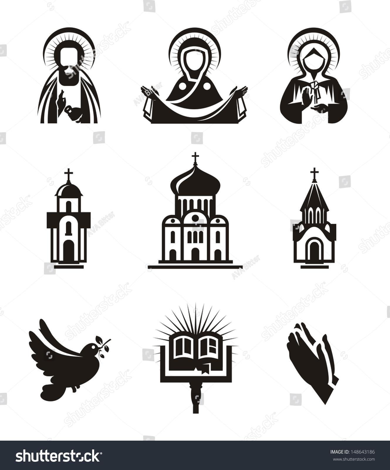 宗教图标-建筑物/地标