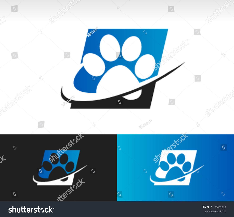 爪子logo 可爱