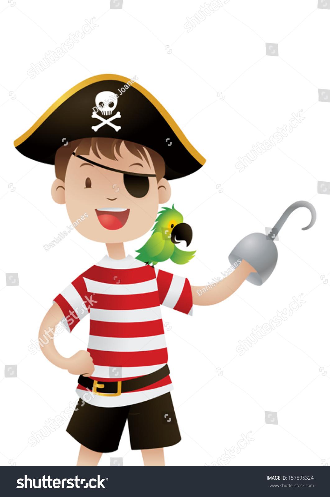 可爱的海盗-人物-海洛创意(hellorf)-shutterstock-.