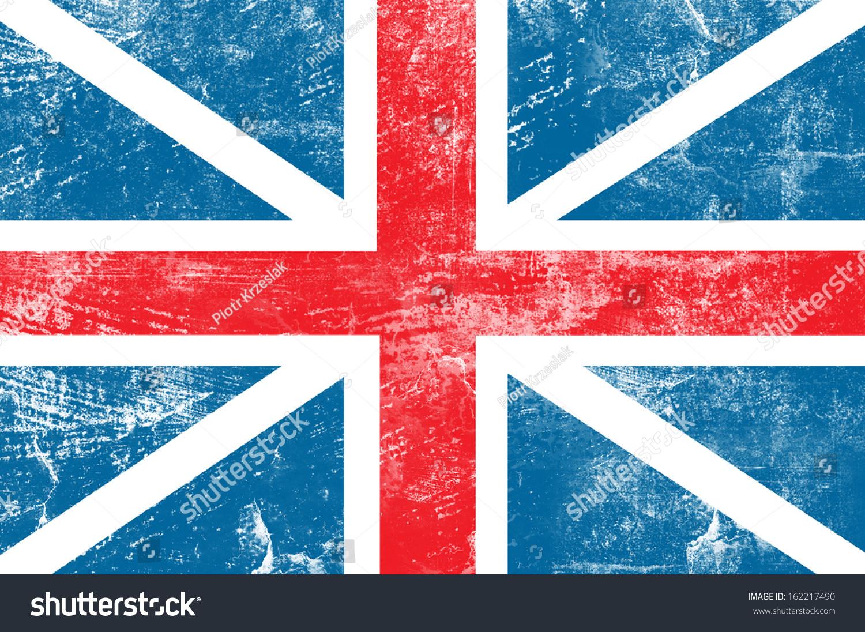 狼籍的英国国旗的背景-背景/素材,抽象-海洛创意()-合