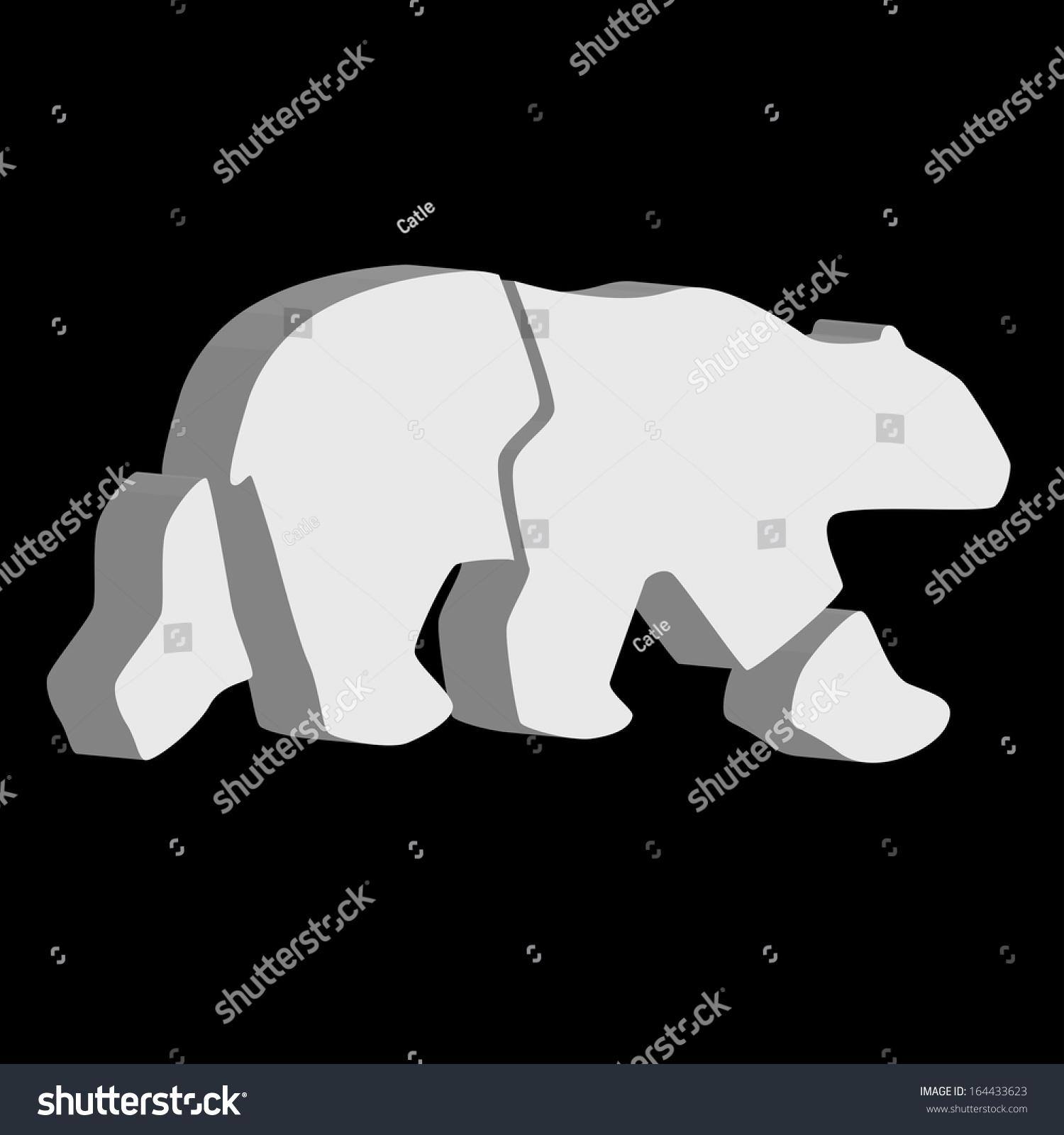 北极熊标志-动物/野生生物