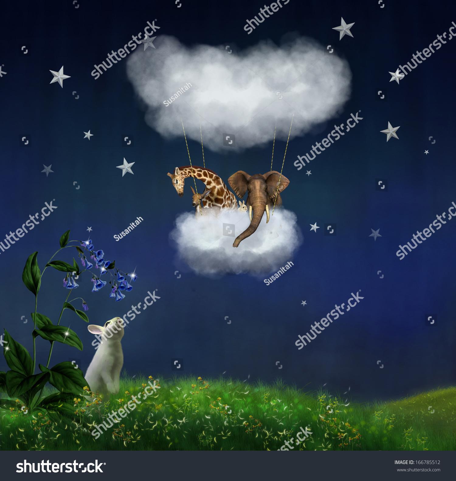 动物行走的天空