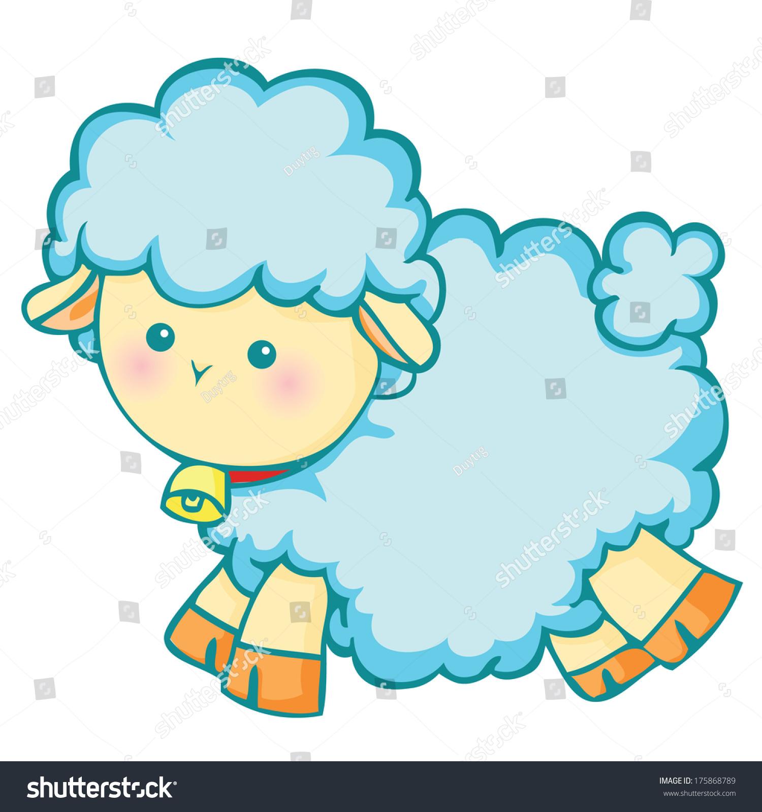 可爱的小羊羔-动物/野生生物-海洛创意(hellorf)