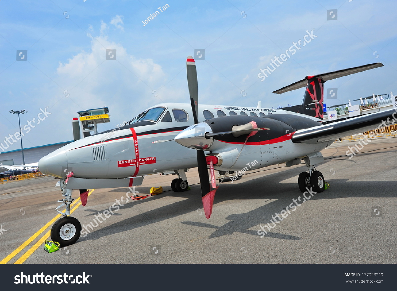 er特殊使命飞机在新加坡航展上