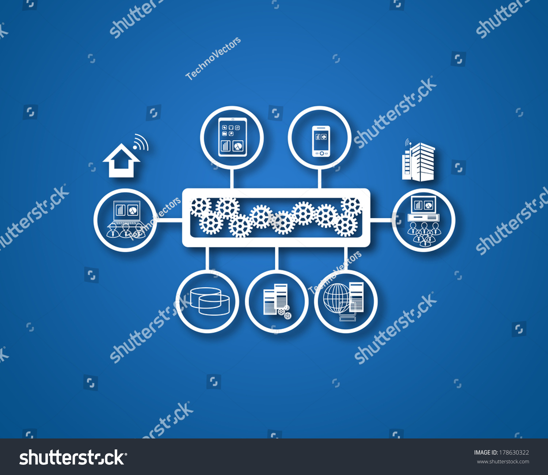 ppt创意结构图