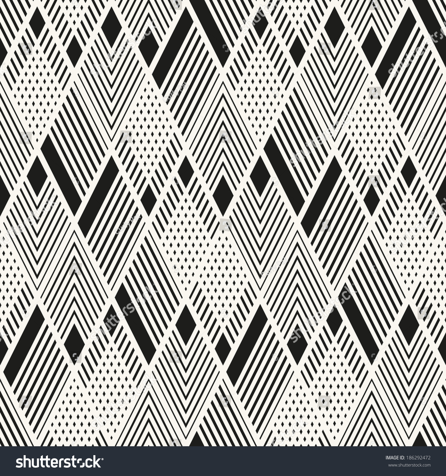 现代时尚的纹理.与线性的菱形几何装饰