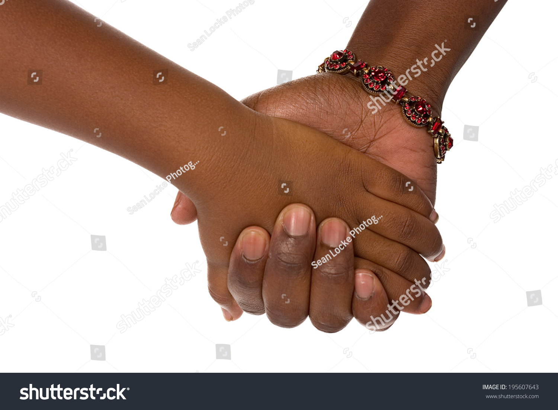 家庭:父母与孩子手牵手
