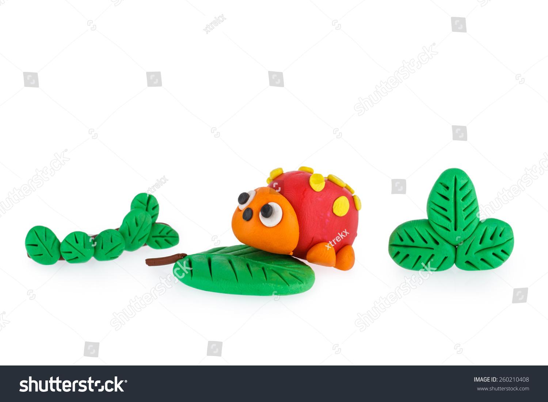 瓢虫的橡皮泥-动物/野生生物,艺术-海洛创意(hellorf)