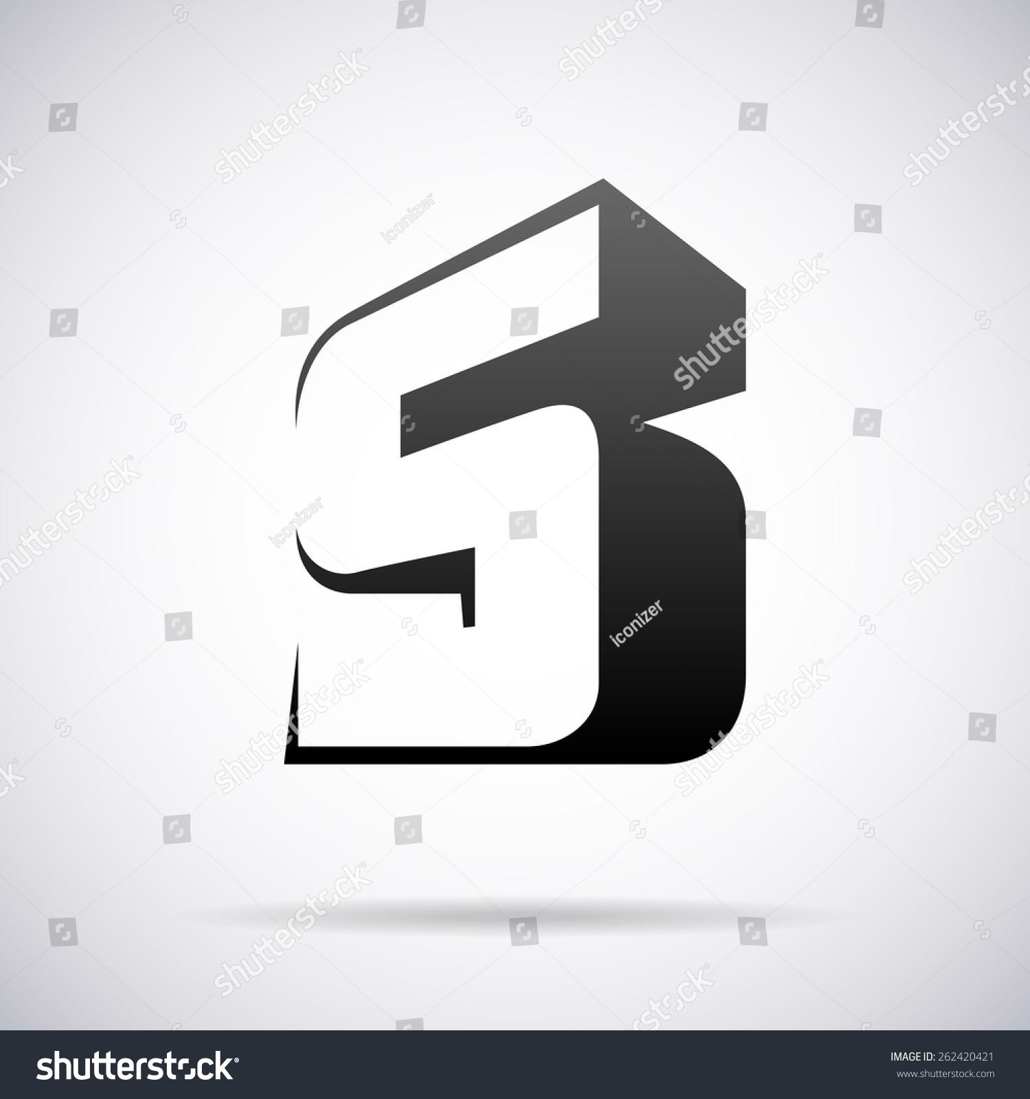 字母的设计模板矢量标识-符号/标志