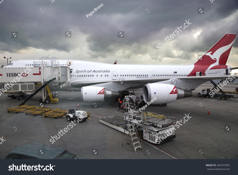 波音747飞机在