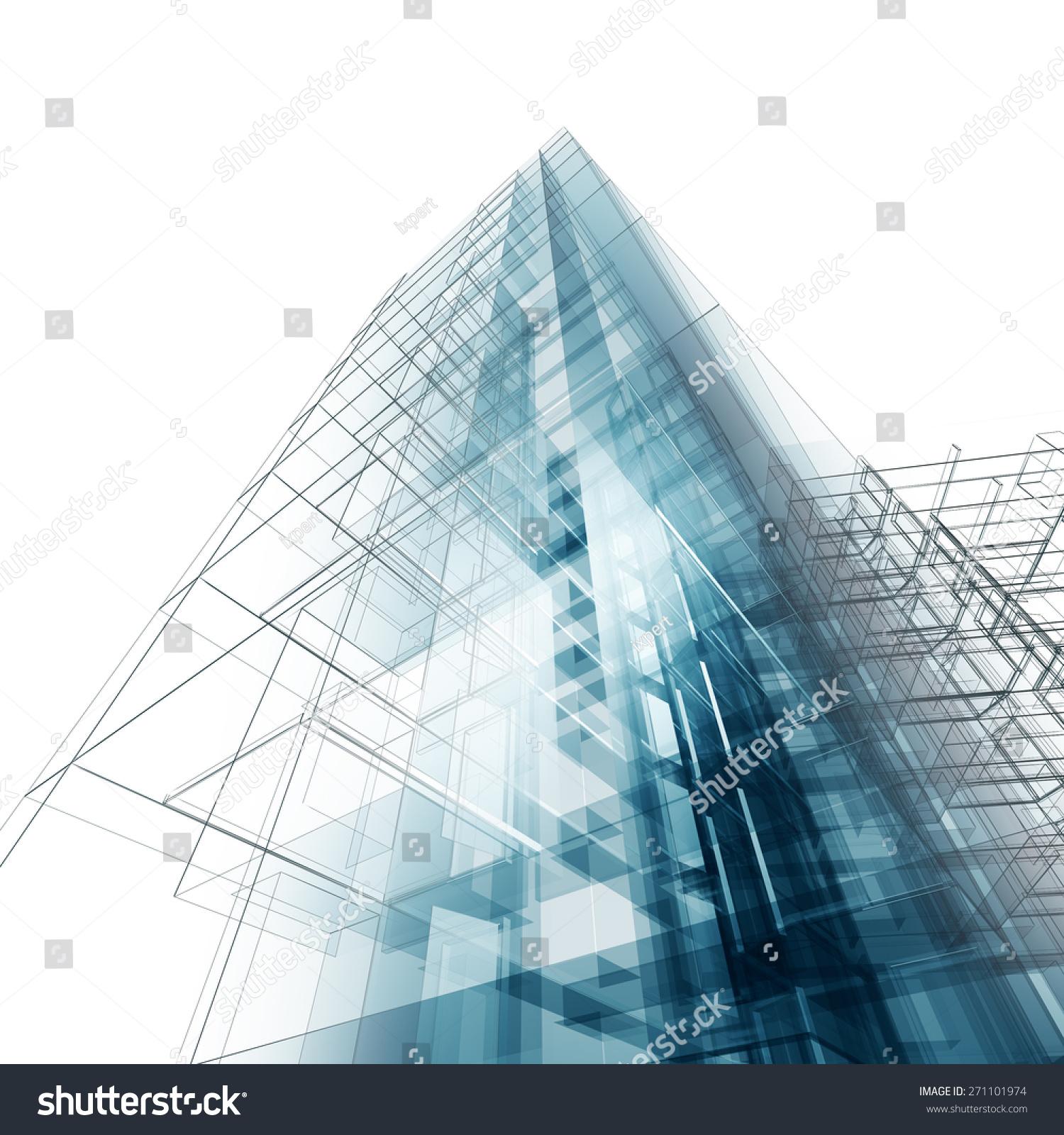 我自己体系结构设计和模型-建筑物/地标