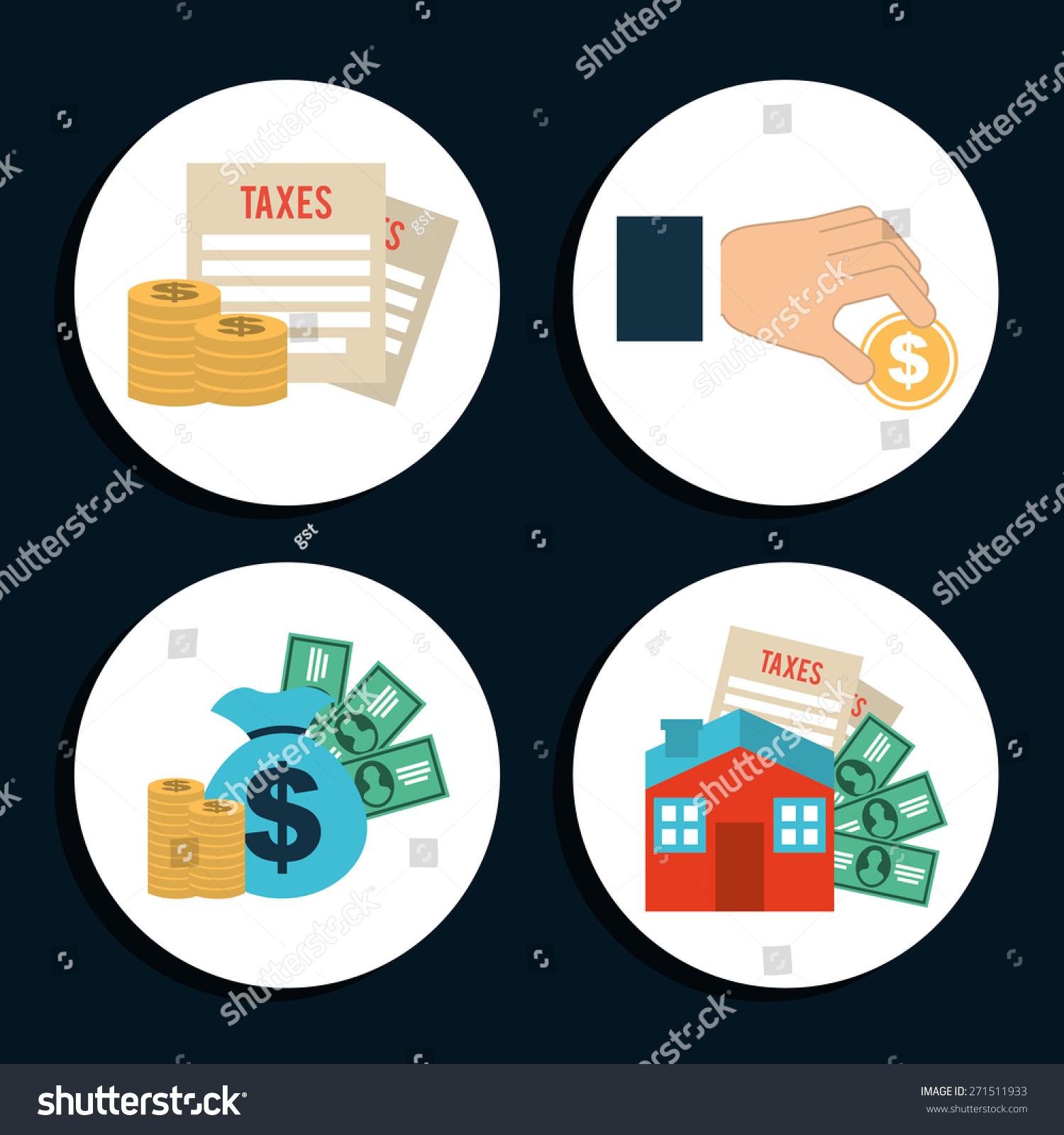 钱的图标设计,矢量插图eps10图形-商业/金融,符号/-()
