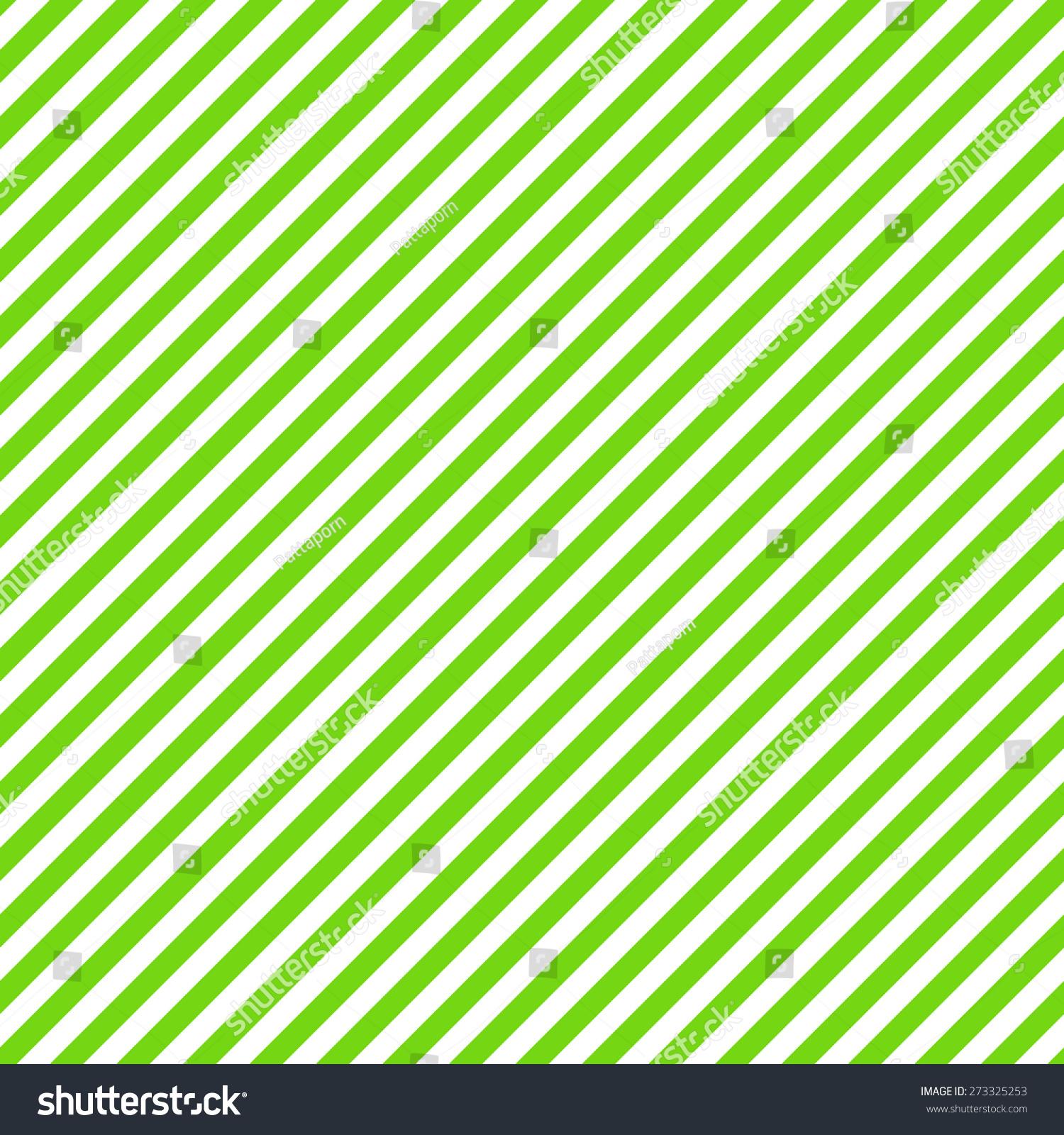 绿色和白色斜条纹图案背景,无缝纹理