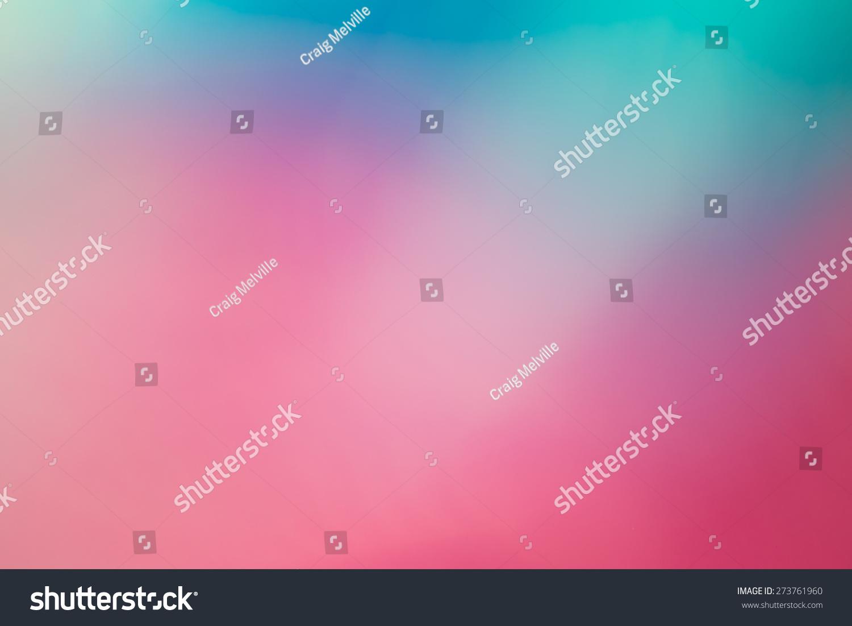 粉色和蓝色模糊的抽象背景-背景/素材,抽象-海洛创意