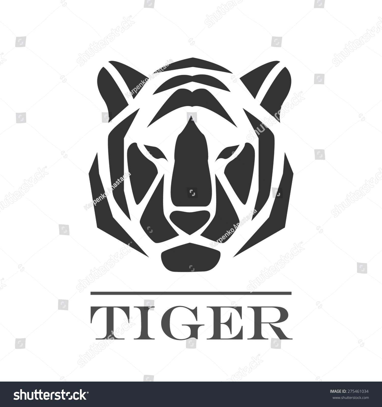 标志的老虎-动物/野生生物