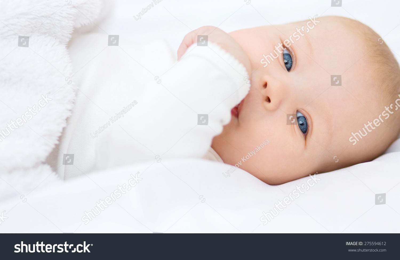 萌宝宝6个月,特写肖像-人物-海洛创意(hellorf)-中