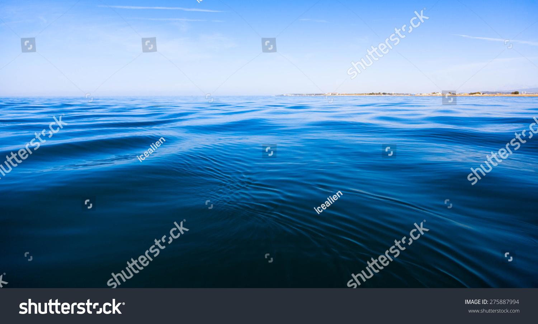 蓝色海洋-背景/素材,自然-海洛创意(hellorf)-中国-.