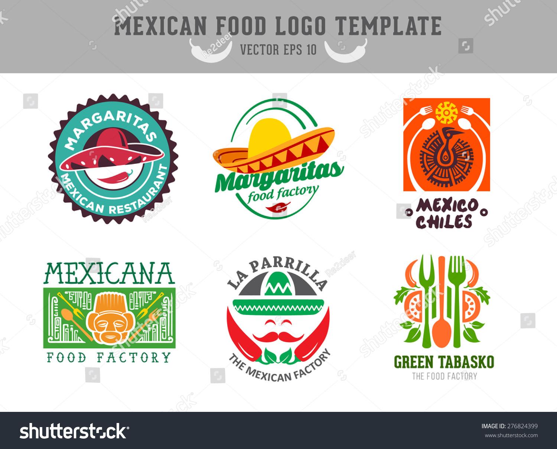 墨西哥食物的标志