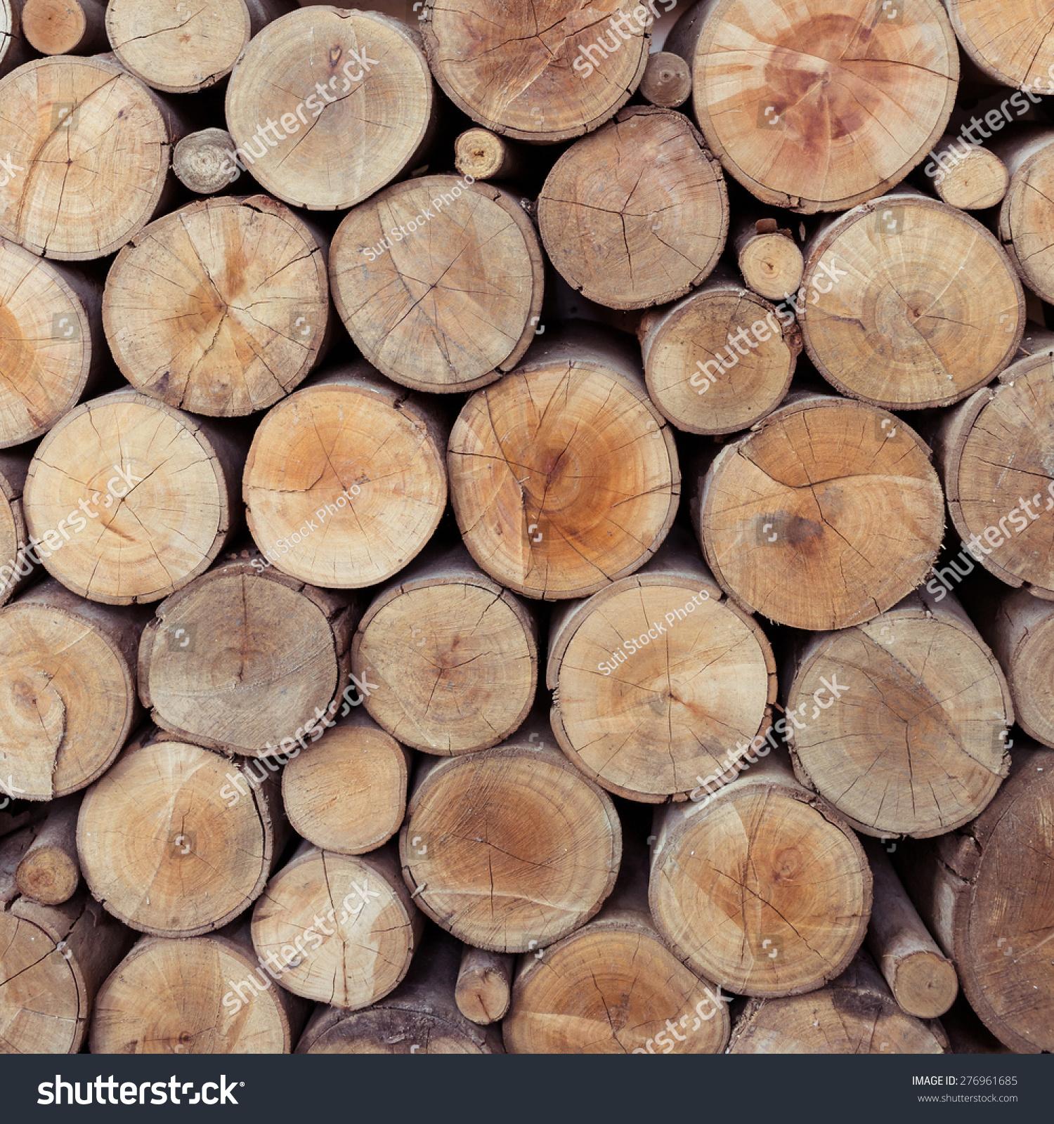 堆木头日志存储行业-背景/素材,工业-海洛创意()-中国