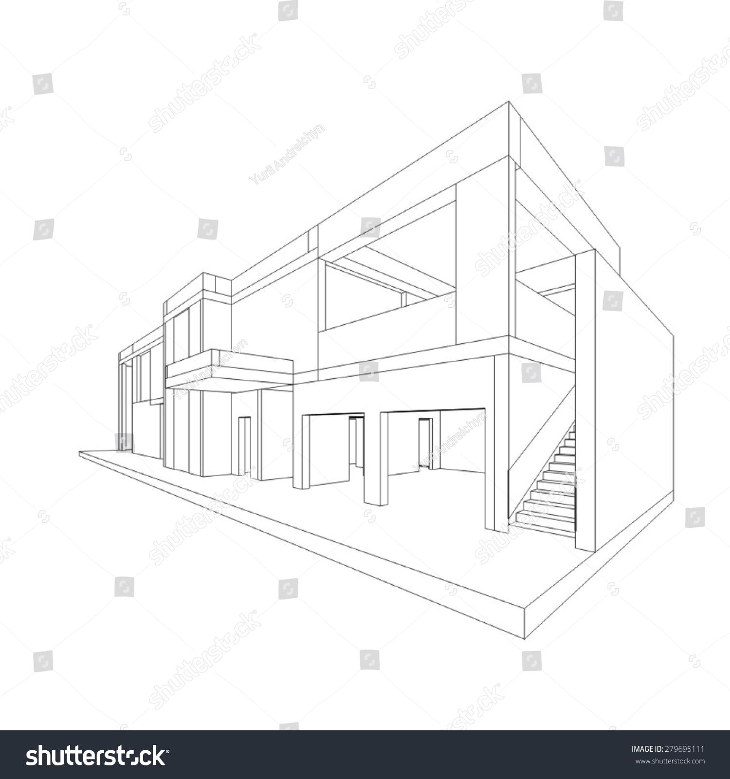 建筑图纸-建筑物/地标,背景/素材-海洛创意(hellorf)