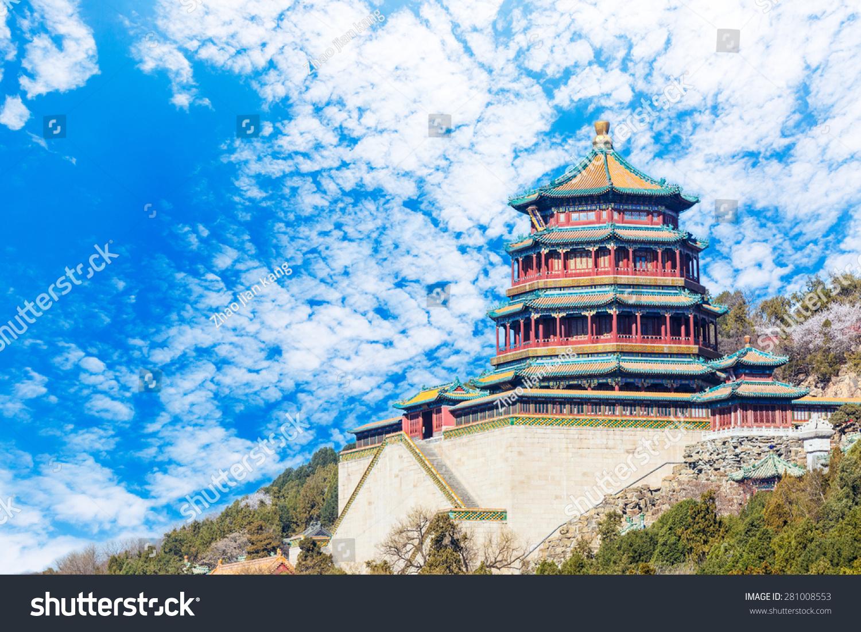 北京颐和园的风景,在中国古代皇家园林-建筑物/地标