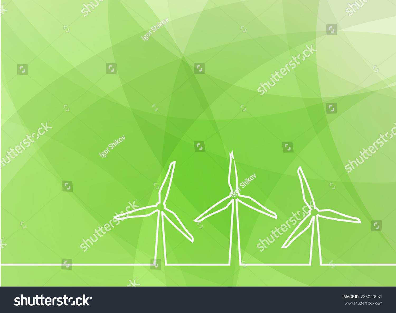 风机绿色背景-背景/素材,抽象-海洛创意(hellorf)--.