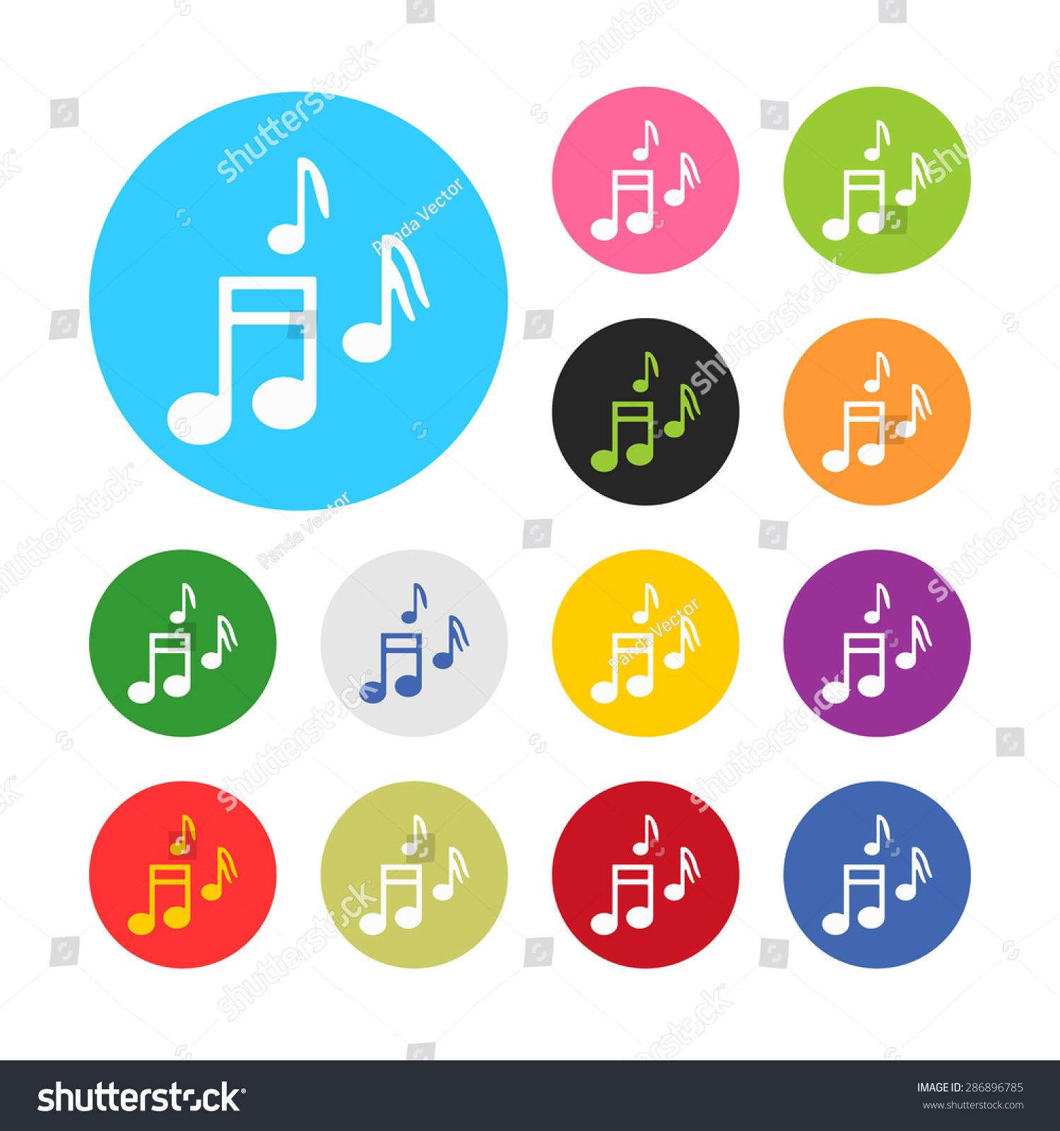 说明音乐商业和金融的图标