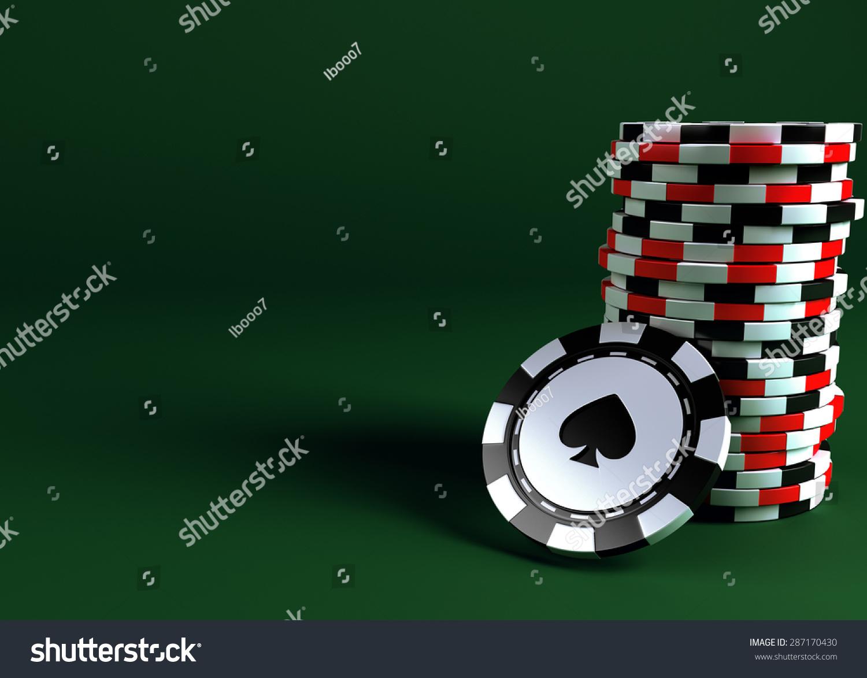 赌场筹码-背景/素材,运动/娱乐活动-海洛创意(hellorf