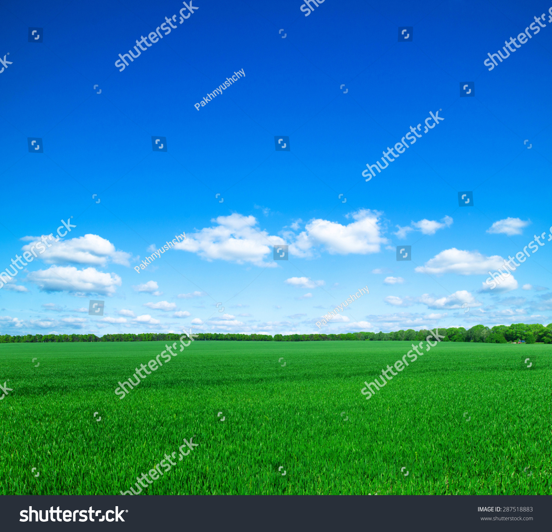 ppt蓝色风景素材