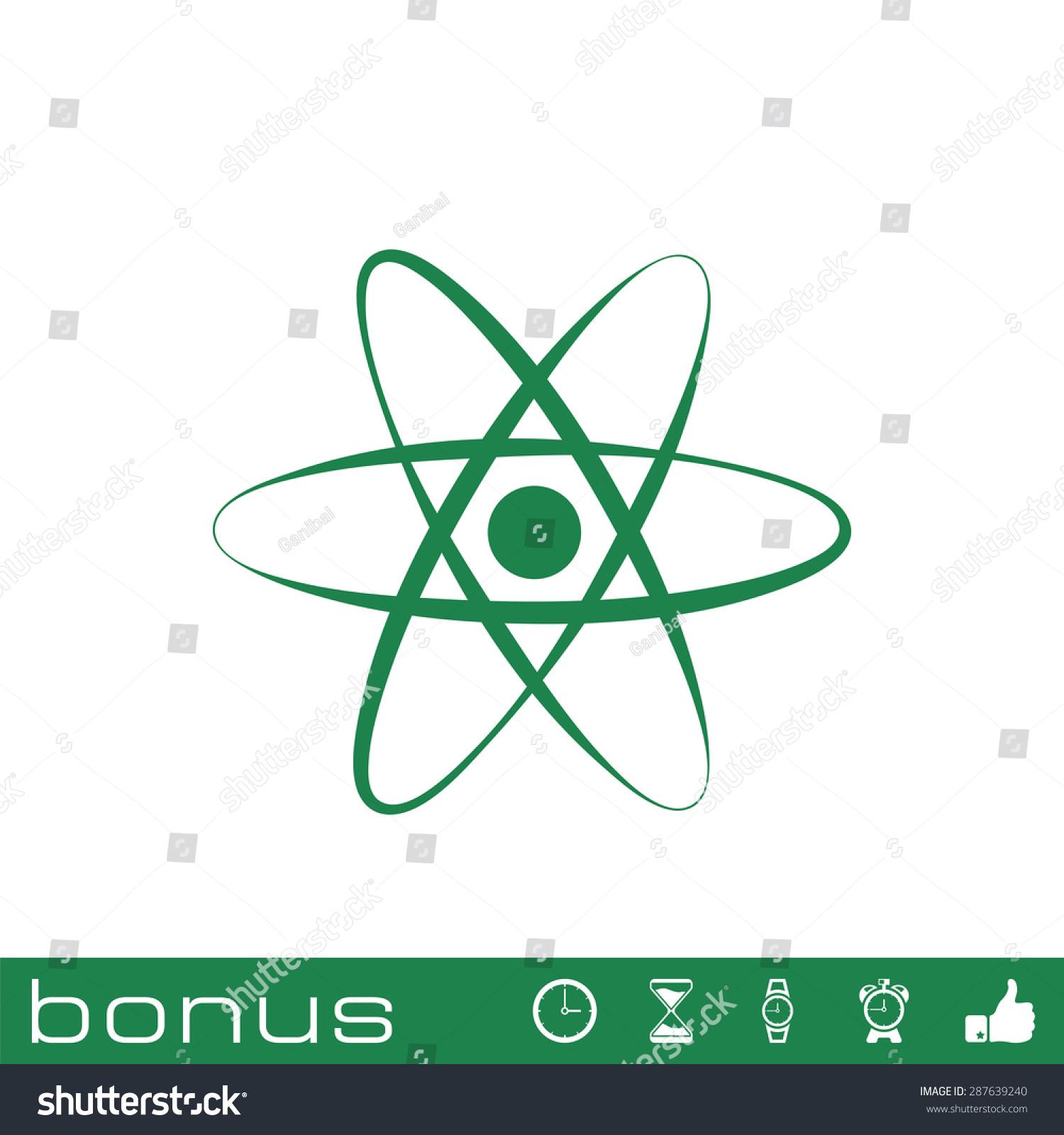 原子的图标-符号/标志-海洛创意(hellorf)-中国独家