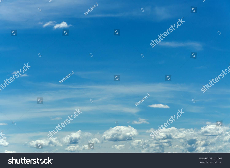与蓝天白云的背景,美丽的天空-背景/素材,自然-海洛()
