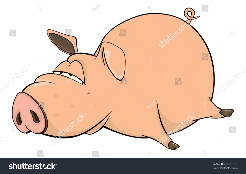 ppt动图素材猪