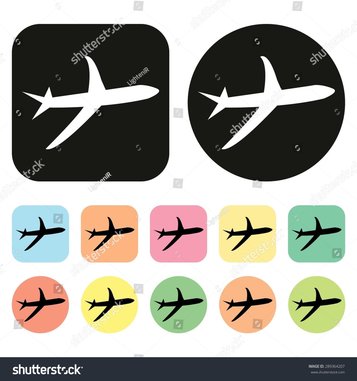 飞机图标.向量-交通运输,符号/标志-海洛()