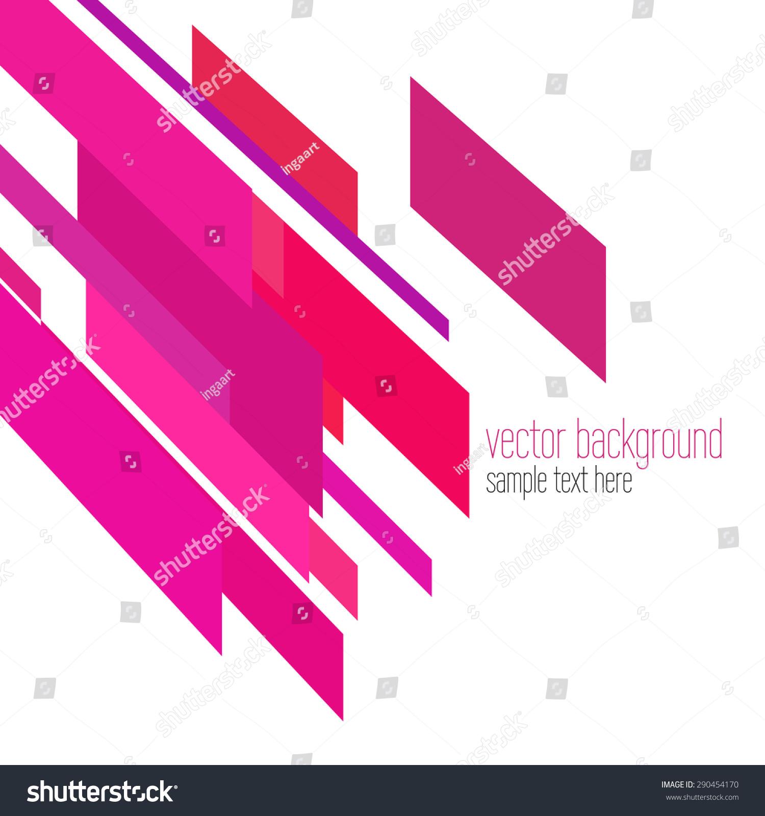 向量可爱创意抽象背景由粉红色的条纹-背景/素材,抽象