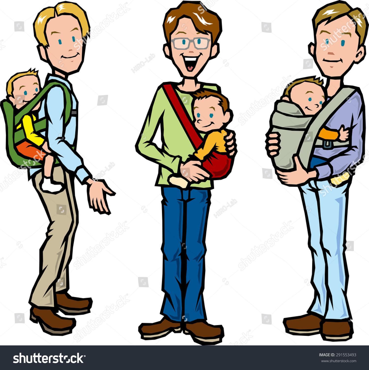 父亲拥抱孩子-人物-海洛创意(hellorf)-shutterstock