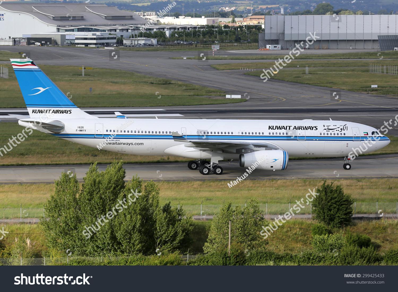 科威特航空公司空客a330车