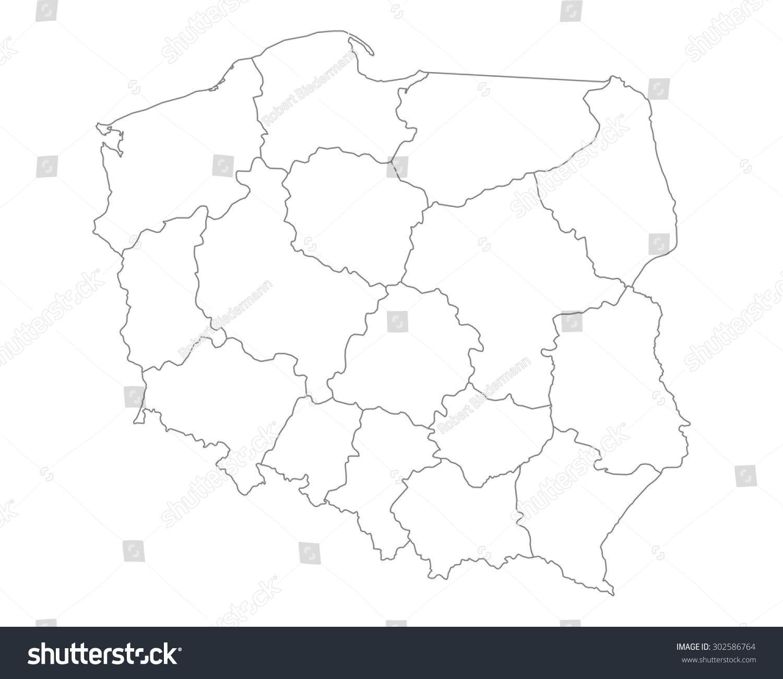 波兰的地图-背景/素材-海洛创意(hellorf)-中国独家-.
