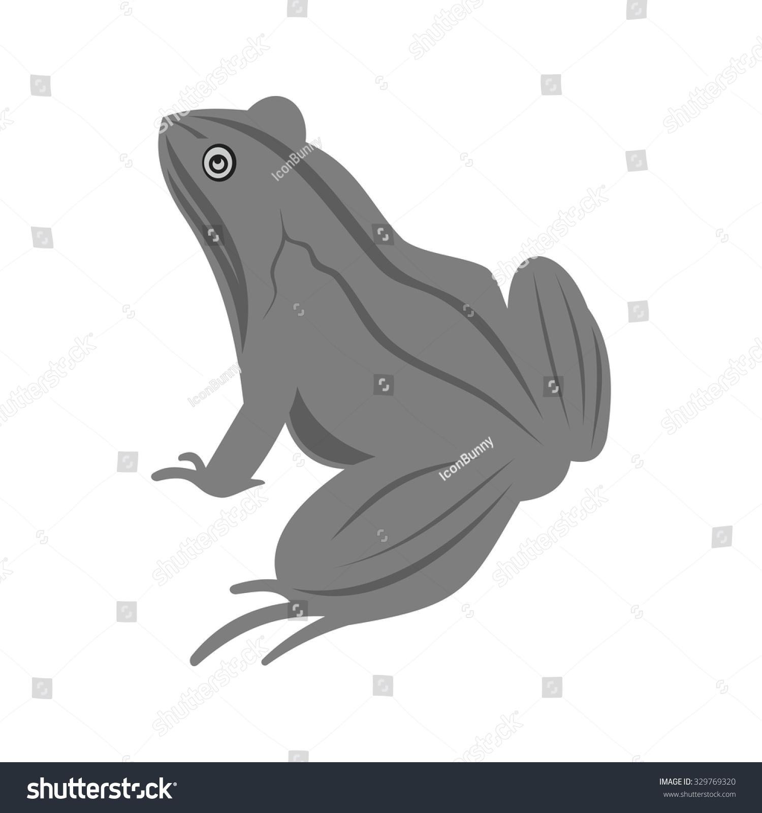 青蛙,动物图标矢量图