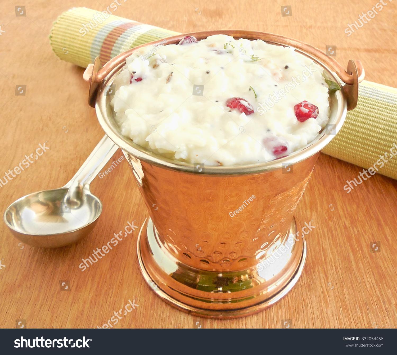 一个传统的印度食物和健康的
