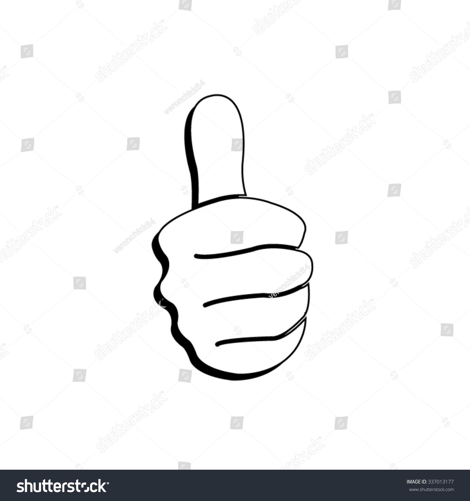 大拇指——矢量图标-科技,符号/标志-海洛创意()-中国