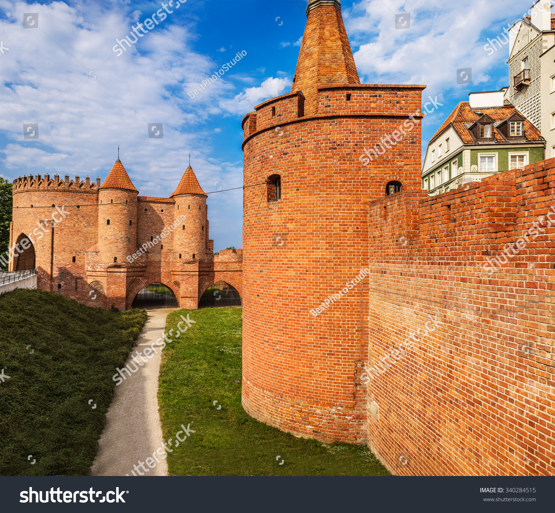 华沙城堡是一个系统的防御工事建在华沙,波兰在19世纪
